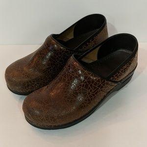 Sanita Danish Clogs Brown Size 11